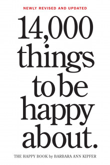 14,000 Things to be Happy About av Barbara Ann Kipfer (Heftet)