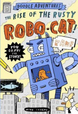 Omslag - Doodle Adventures: The Rise of the Rusty Robo-Cat!