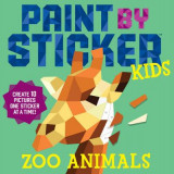 Omslag - Paint By Sticker Kids: Zoo Animals