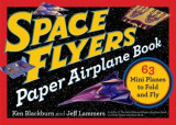 Omslag - Space Flyers Paper Airplane Book