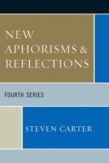 New Aphorisms & Reflections av Steven Carter (Heftet)