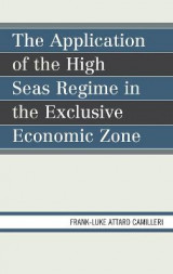 Omslag - The Application of the High Seas Regime in the Exclusive Economic Zone