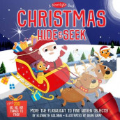 A Moonlight Book: Christmas Hide-and-Seek av Elizabeth Golding og Dean Gray (Innbundet)