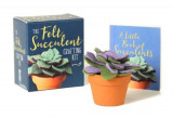 Omslag - The Felt Succulent Crafting Kit