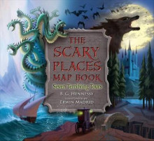 The Scary Places Map Book av B G Hennessy (Innbundet)