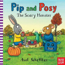 Pip and Posy: The Scary Monster av Axel Scheffler (Pappbok)