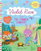 Omslag - Violet Rose and the Summer Campout