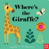 Omslag - Where's the Giraffe?