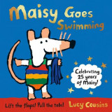 Omslag - Maisy Goes Swimming