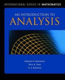 An Introduction to Analysis av Gerald G. Bilodeau, G. E. Keough og Paul R. Thie (Innbundet)