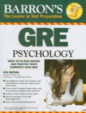Barron's GRE Psychology av Edward L Palmer og Sharon L Thompson-Schill (Heftet)