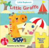 Omslag - Little Giraffe at the Beach