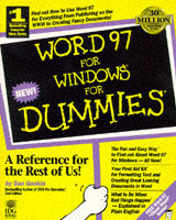 Omslag - Word 97 for Windows for dummies