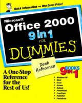 Omslag - Microsoft Office 2000 9 in 1 for dummies