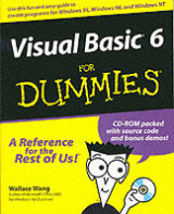 Omslag - Visual Basic 6 for dummies