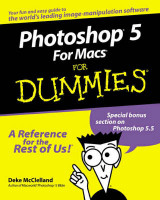 Omslag - Photoshop 5 for Macs for dummies