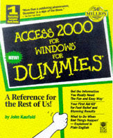Access 2000 for Windows for dummies av John Kaufeld (Heftet)