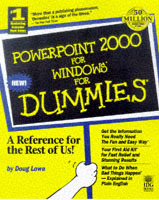 Omslag - PowerPoint 2000 for Windows for dummies