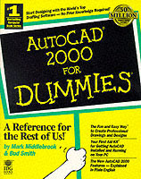 AutoCAD 2000 for dummies av Mark Middlebrook og Bud Smith (Heftet)
