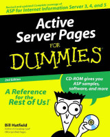Omslag - Active server pages for dummies