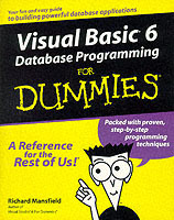 Omslag - Visual Basic 6 database programming for dummies