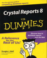 Omslag - Crystal reports 8 for dummies