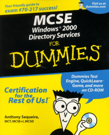 MCSE Win 2000 Dir. Services for dummies av Marcia Loughry (Heftet)