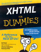 Omslag - XHTML For Dummies