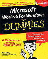Microsoft Works 6 for Windows For Dummies av David Kay (Heftet)