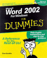 Omslag - Word 2002 for dummies