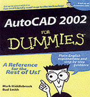 AutoCAD 2002 For Dummies av Mark Middlebrook og Bud E. Smith (Heftet)