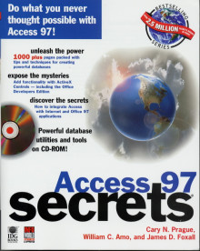 Access 97 secrets av Cary N. Prague, William C. Amo og James D. Foxall (Heftet)