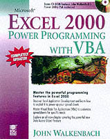 Omslag - Microsoft Excel 2000 power programming with VBA