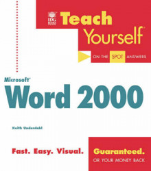 Teach yourself Microsoft Word 2000 av Keith Underdahl (Heftet)