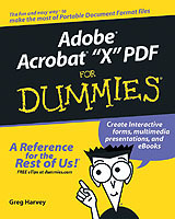 Adobe Acrobat 6 PDF For Dummies av Greg Harvey (Heftet)