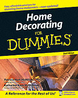 Home Decorating for Dummies av Patricia McMillan og Katharine McMillan (Heftet)