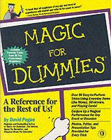 Magic for dummies av David Pogue (Heftet)