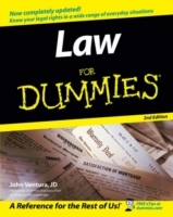 Law For Dummies av John Ventura (Heftet)