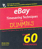 eBay Timesaving Techniques For Dummies av Marsha Collier (Heftet)