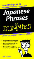 Japanese Phrases For Dummies (Heftet)
