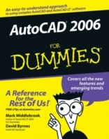 AutoCAD 2006 For Dummies av Mark Middlebrook og David Byrnes (Heftet)