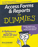 Access Forms & Reports For Dummies av Brian Underdahl (Heftet)