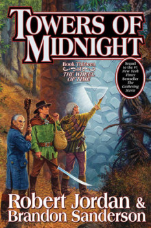 Towers of midnight av Robert Jordan og Brandon Sanderson (Innbundet)