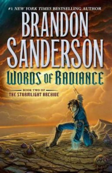 Words of Radiance av Brandon Sanderson (Innbundet)