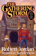 The gathering storm av Robert Jordan (Heftet)
