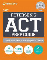Omslag - Peterson's ACT Prep Guide 2017