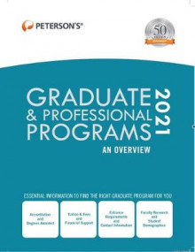 Graduate & Professional Programs: An Overview 2021 av Peterson's (Innbundet)