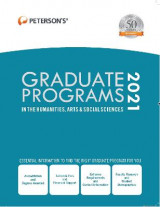 Omslag - Graduate Programs in the Humanities, Arts & Social Sciences 2021