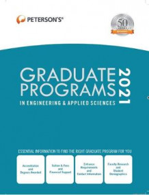 Graduate Programs in Engineering & Applied Sciences 2021 av Peterson's (Innbundet)