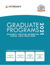 Omslag - Graduate Programs in Business, Education, Information Studies, Law & Social Work 2021